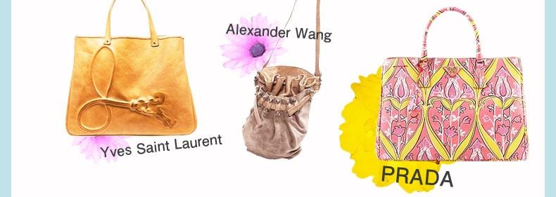 PRADA(プラダ)、AYves Saint Laurent(イヴ・サンローラン)など春の新作バッグ