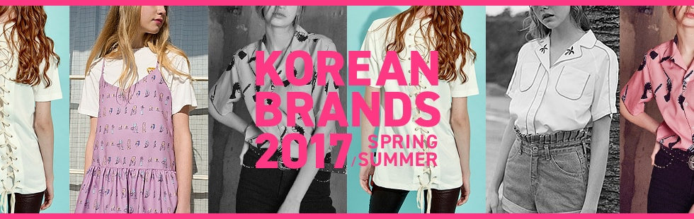 KOREAN BRANDS 2017SS