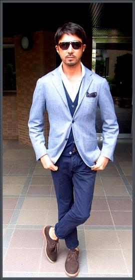 イタリア好きな干場流 ビジネススーツスタイル