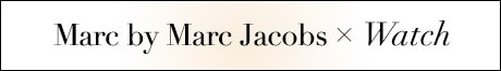 Marc by Marc Jacobs 時計