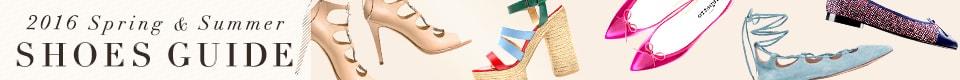 2016SS Shoe Guide