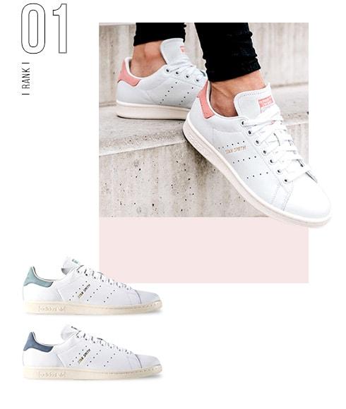 1位 STAN SMITH / adidas