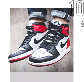 10位 JORDAN 1 / Nike