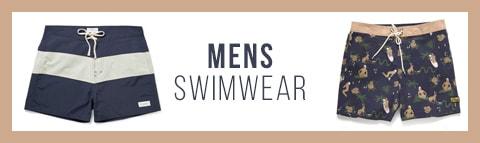 mens swimwear