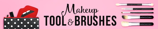 MAKEUP TOOLS & BRUSHES