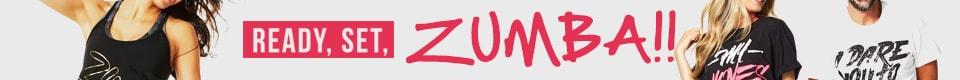ZUMBAアイテムが勢ぞろい!